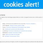 Come inserire la cookies policy